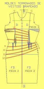 vestido drapeado terms 149x300 Vestidos Drapeados