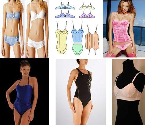 Fabrica tu ropa intima de dama