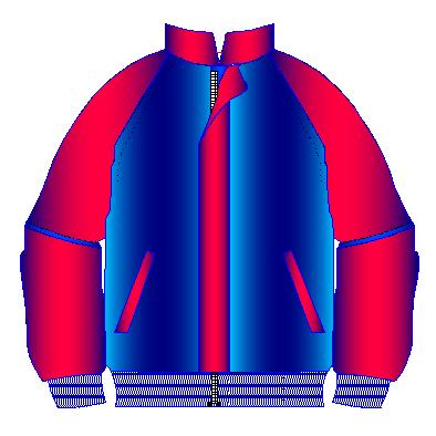 Patrones de chaquetas manga raglan de mujer