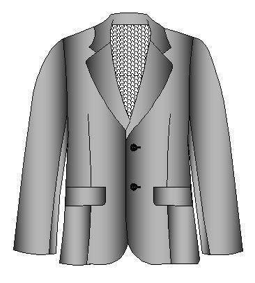Patrones de saco clasico de caballero | Moldes de Ropa y Sistemas de