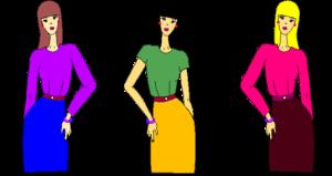 Kit para diseñar prendas kimono de dama