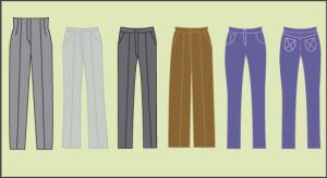 patrones de intima pantalones de dama