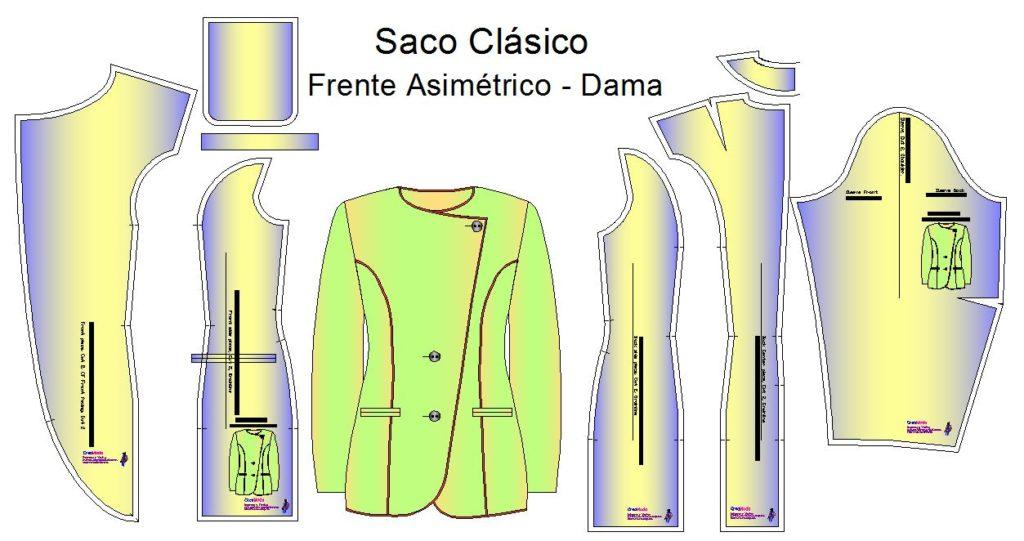 Moldes de sacos asimetricos