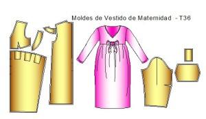 Moldes-de-Vestido-Maternidad