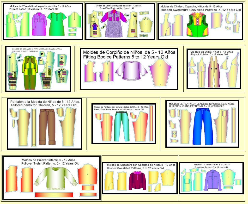 639e0cf6a Tablas de tallas universales para diseño de ropa