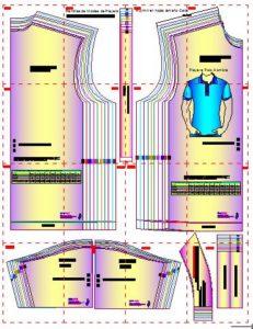 Moldes de playera polo en pdf
