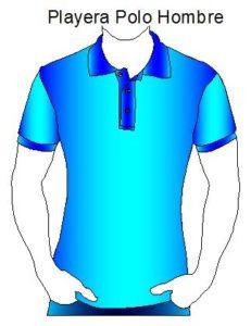 Playera o camiseta polo da hombre